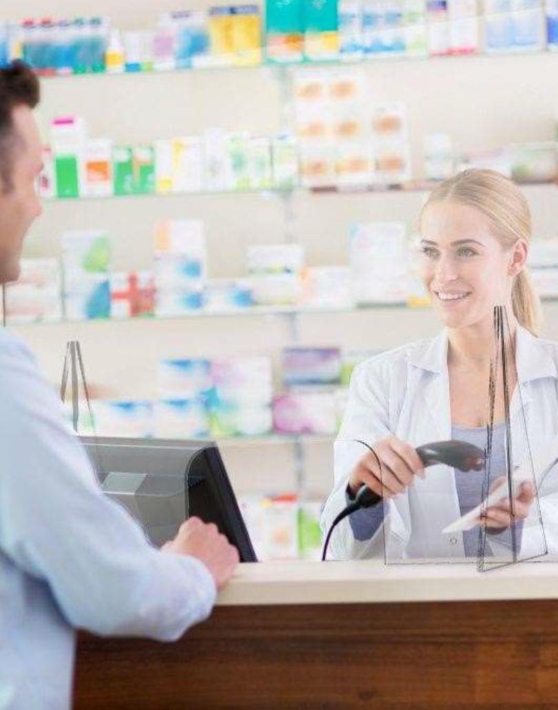 Mamparas para Farmacias y Estancos