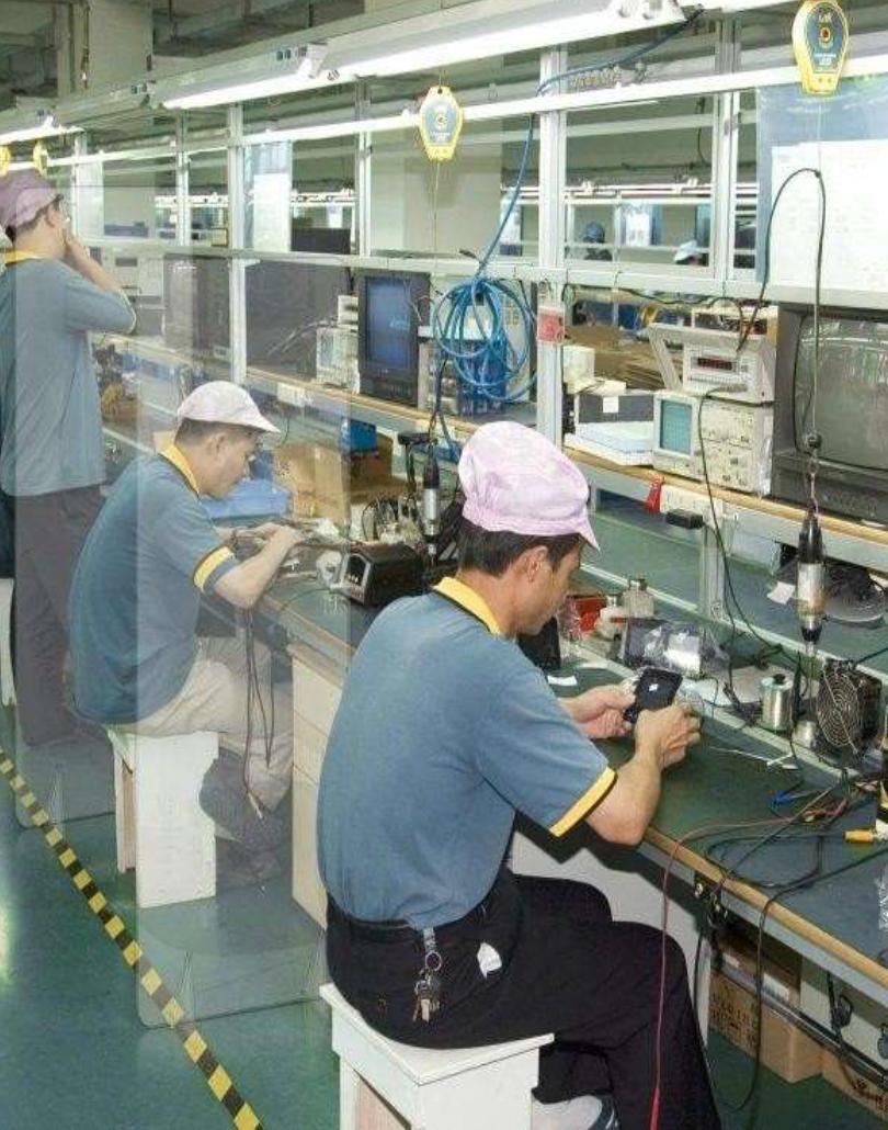 Mamparas para Industria